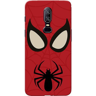 OnePlus 6 Case, One Plus 6 Case, SPman Slim Fit Hard Case Cover/Back Cover for One Plus 6