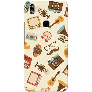 Vivo V9 Case, Vivo V9 Youth Case, Luxury Slim Fit Hard Case Cover/Back Cover for Vivo V9
