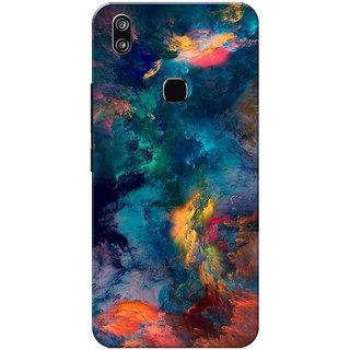 Vivo V9 Case, Vivo V9 Youth Case, Watercolour Abstract Slim Fit Hard Case Cover/Back Cover for Vivo V9