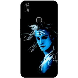 huge discount a5f82 e1481 Buy Vivo V9 Case, Vivo V9 Youth Case, Lord Shiva Slim Fit Hard Case ...