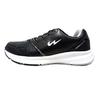 Campus Vezel Blk/Wht Running Shoe Men