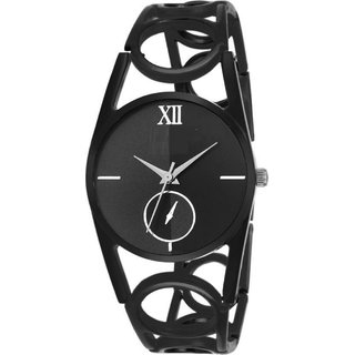 KDS Best Collection Black Chain Girl and Women Watch 6 month warranty