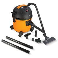 Impex VC-4703 3 Multi-Purpose Wet  Dry Vacuum Cleaner (Yellow  Black)