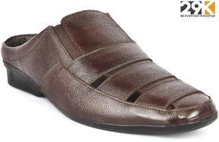 29K Brown Genuine leather Sandals For Men