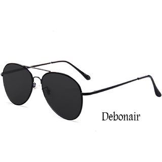 43bfddb0d2d Buy Debonair Black Aviator Sunglasses Online - Get 81% Off