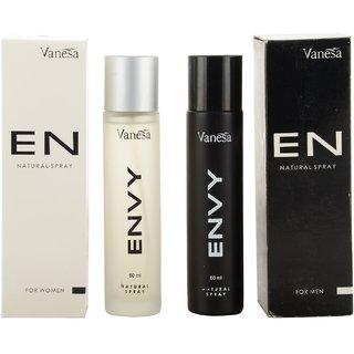 Envy Body Spray Combo, 60 ml (Pack of 2)Men  Momen