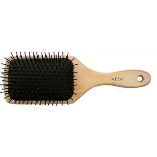 Vega Wooden Paddle Brush - Large (E2-PB)