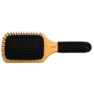 Vega Wooden Paddle Brush (E1-PB)