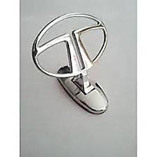 Car Auto Hood Bonnet Ornament Chrome Emblem for Tata