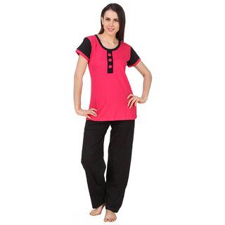 Buy Fasense cotton night wear top pajama night suit for women DP164 (1 Top a3cd1460e