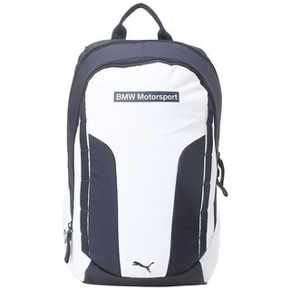 0c98d163832f Buy Puma Unisex Whitte   Blue BMW Motorsport Backpack Online ...