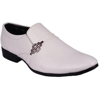 Bb Laa 1008 White Men's Slip-on Shoes
