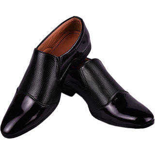 BB LAA 1010 Black  Breathable Comfortable Men's Slip-on Shoes