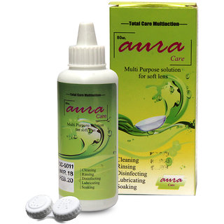 TruOm Aura Contact Lens Solution