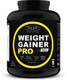 Sinew Weight Gainer Pro With Digestive Enzymes, Coffee,