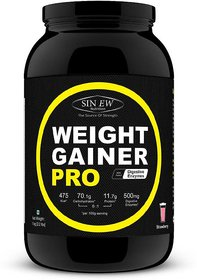 Sinew Nutrition Weight Gainer Pro With Digestive Enzyme