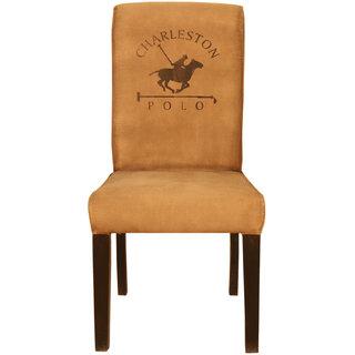 Buy Ganesh Handicrafts Brown Color Wooden Canvas Chair Online