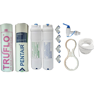 XISOM R.o Water Purifier Inline Filter With Water Tap Pipe Elbow Spun Filter Used In All R.o