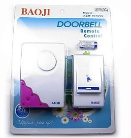 WIRELESS REMOTE CONTROL DOOR BELL   CORDLESS DOOR BELL / OFFICE BELL CALLING BELL BUZZER REMOTE BELL BATTERY WITH 32 MUSICAL
