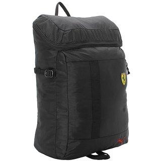 aef03a7077cd Buy Puma Unisex Black Scuderia Ferrari Fanwear Backpack Online ...