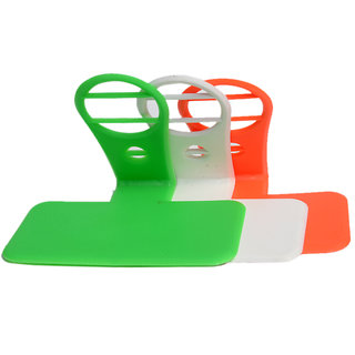 KSJ (Pack of 3) Tricolor Charging Stands for all type of Smartphones by KSJ Accessories