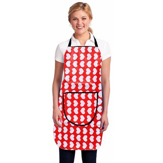 New Ladies Desighn Kitchen Apron With Front Pocket