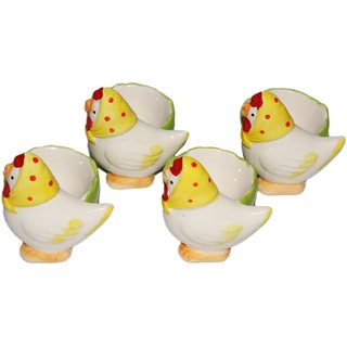 JADES Multicolor Resin Material Duck Shape Kitchen Dcor Egg Holder
