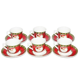 JADES Multicolor Ceramic Material Kitchen Dcor Tea Cup Sets