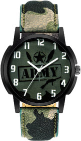 AMSER New Trendy Army Style Watch For Boys And  Mens 00189 6 month warranty
