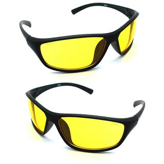 66ab2bbc196 Buy HD NV Night Driving Glasses In Best Price Set Of 2 Online   ₹279 from  ShopClues