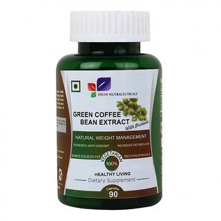 Green Coffee Bean Extract With Probiotic, 90 Capsules;