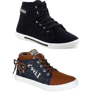 10c0df9a3 Buy Men s Multicolor Lace-up Sneakers Online - Get 45% Off