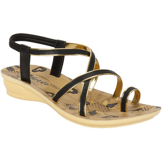 Oricum Footwear Women/Girls Black-982 Sandals