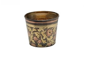 Buyerwell Decorative Colored Planter (Diameter 11 inch) Home Dcor