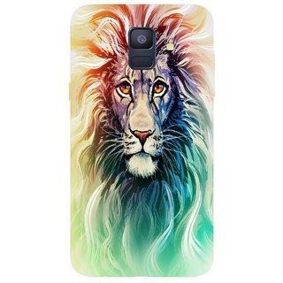 Back Cover for Samsung A6 plus (Multicolor, Flexible Case)
