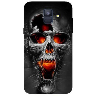 Back Cover for Samsung A6 (Multicolor, Flexible Case)