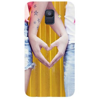 Back Cover for Samsung A6 plus (Multicolor, Flexible Case)