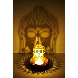 Crazy Sutra Brass Shadow Buddha Gold