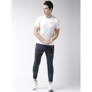 Nike Navy Lycra Track pant Dry fit
