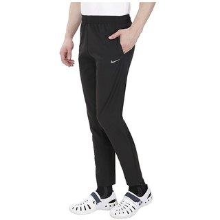 Nike Black Polyester Jogger Track pant for Men