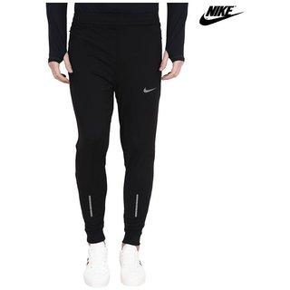 Nike Black Lycra Track pant  Dry fit