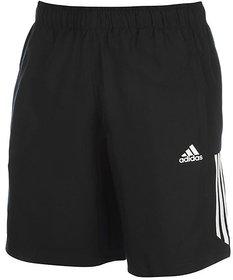 Adidas Men's Black Running Shorts