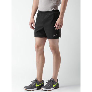 Nike Men's Black Running Lycra Shorts