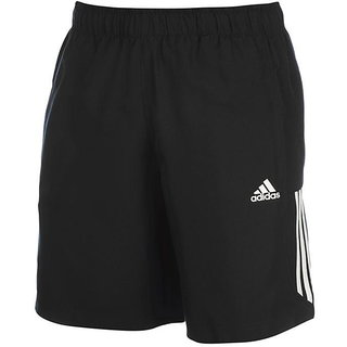 Adidas Men's Black Running Shorts