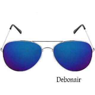 Debonair UV Protected Aviator Mercury Sunglasses For Men  Women