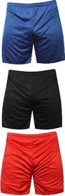 Mj Store Present Polyster Dry-Fit Men's Lounge, Beach, Bermuda, Casual, Sports, Night wear, Cycling, Short rd-blu-bl