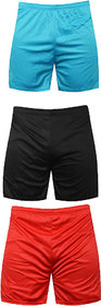 Mj Store Present Polyster Dry-Fit Men's Lounge, Beach, Bermuda, Casual, Sports, Night wear, Cycling, Short rd-sky-bl