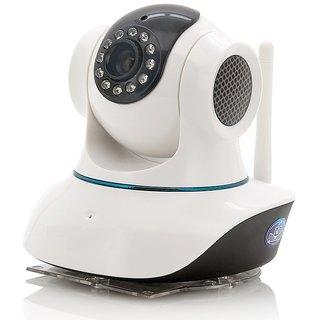 New Dual Antenna Wireless WIFI HD CCTV IP indoor Security camera SD Card slotMic