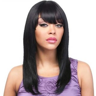 Tahiro Black Formal Hair Wig - Pack Of 1
