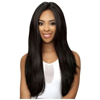 Tahiro Black Full Head Hair Wig - Pack Of 1